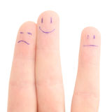 Fingers company Stock Images