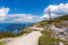 5 Fingers Dachstein Royalty Free Stock Images