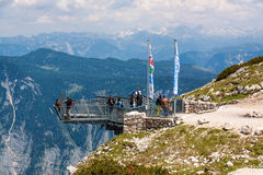 5 Fingers Dachstein Royalty Free Stock Image
