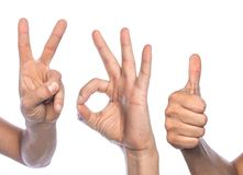 Fingers Stock Images