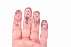 Fingers Family Stock Images