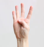 Fingers Royalty Free Stock Photos
