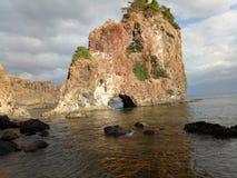 5fingers het strand van inhamlaki Royalty-vrije Stock Afbeelding