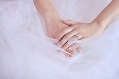 Fingers and nails Royalty Free Stock Photography