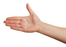Fingers together Royalty Free Stock Image