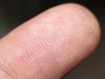 Fingertip Stock Image