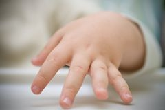 At the fingertips Royalty Free Stock Photo