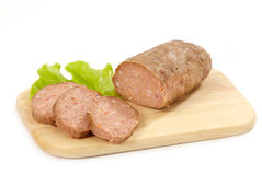 finhackad bakad meat Arkivbilder