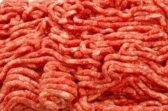 finhackad meat Fotografering för Bildbyråer