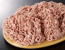 finhackad meat royaltyfria bilder