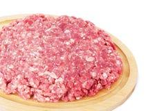 finhackad tät meat förbereder klart till upp Royaltyfria Foton