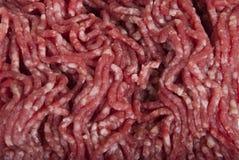 Finhackat blandat kött Royaltyfri Foto