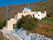 Finikia Santorini Greece Royalty Free Stock Photo