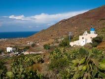 Finikia Santorini Greece Royalty Free Stock Photos