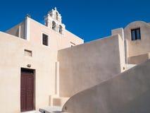 Finikia Santorini Greece Stock Photography