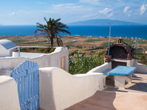 Finikia Santorini Greece Royalty Free Stock Images