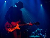 The finish band 22-Pistepirkko live on stage Royalty Free Stock Photography
