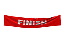 Finish banner Royalty Free Stock Image
