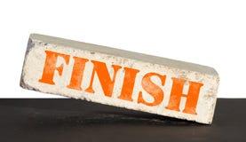 Finish brick Royalty Free Stock Image