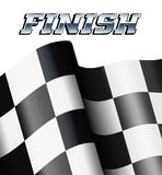 FINISH Checkered, Chequered Flags Motor Racing Sports. TRACK DAY Background, Checkered, Chequered Flags Sport Motor Racing Stock Photos