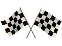 Finish flags Royalty Free Stock Photos
