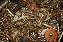 Finish hardware background Stock Photo