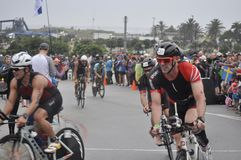 Isuzu ironman 70.3 world championship in South Africa royalty free stock images