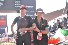 Ironman 70.3 world championship in port elizaeth in south africa stock photos