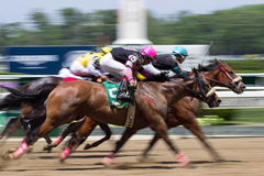 Finish Line at Belmont Royalty Free Stock Images