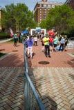 Finish Line, Blue Ridge Marathon, Roanoke, Virginia, USA