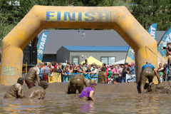 The finish line stock photos