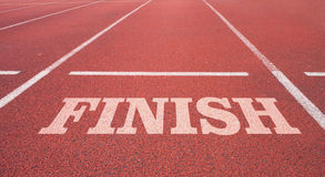 Finish line. For business conception stock photo