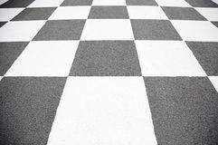 Finish line in the circuit Royalty Free Stock Photography