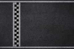 Finish line racing background. Top view Royalty Free Stock Image
