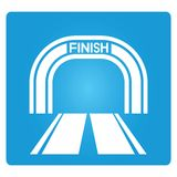 Finish line Royalty Free Stock Image