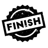 Finish rubber stamp. Grunge design with dust scratches. Effects can be easily removed for a clean, crisp look. Color is easily changed Royalty Free Stock Image