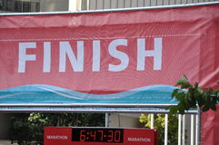 Finish sign Stock Photo