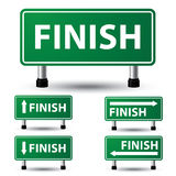 Finish sign Royalty Free Stock Images
