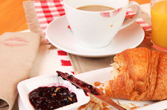 Finished breakfast Royalty Free Stock Images