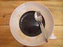 Finished dish Royalty Free Stock Image