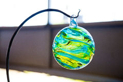 Finished Glassblowing Float Stock Photos