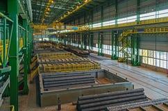 Finished goods warehouse Stock Photo