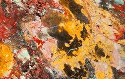Finished stone. Jasper or marble, close up Royalty Free Stock Image