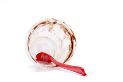 Finished sundae Stock Photography