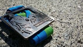 Finisher medal Stock Images
