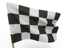Finishing checkered flag Royalty Free Stock Image