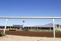 Finishing Line at Sunland Park Stock Photos