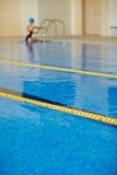 Finishing Practice in Pool Stock Photo