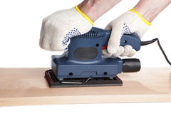 Finishing sander Stock Image