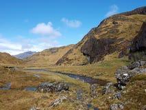 Finiskaig river, Scotland Higlands, west coast Stock Images